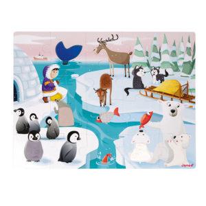 Dotykové puzzle Život na ľade
