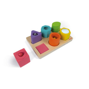 Drevené vkladacie puzzle Janod